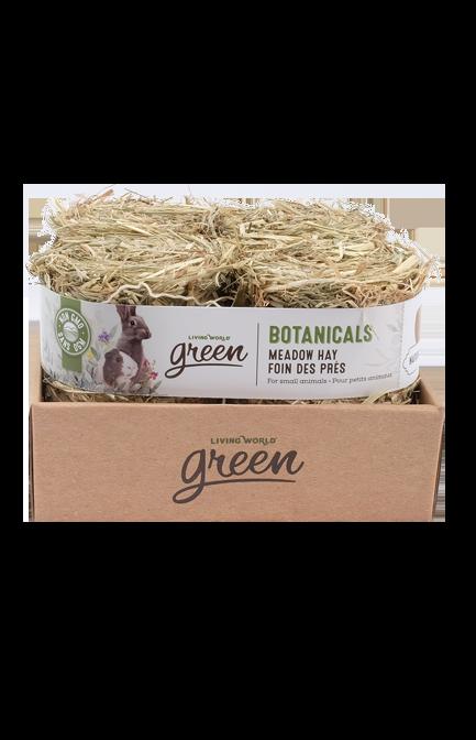Botanicals Meadow Hay – 4-Pack Mini Bales, Natural