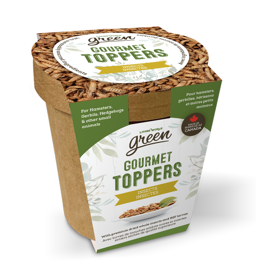Living World Green Gourmet Toppers – Insect