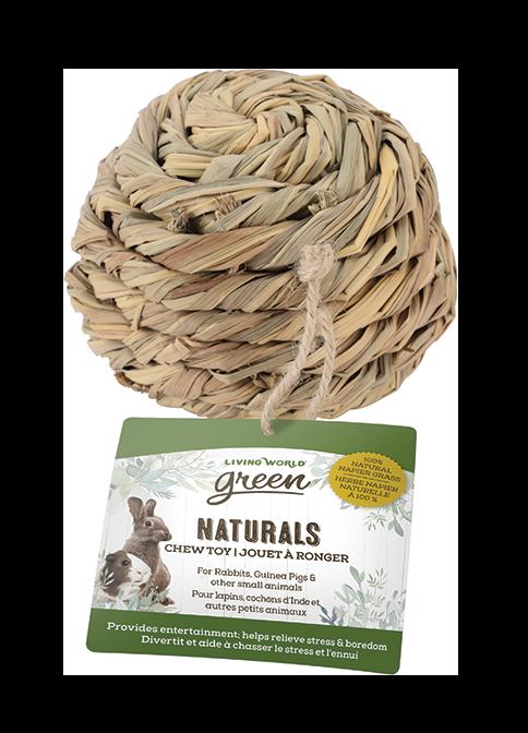 Living World Green Naturals Chew Toy – Ball