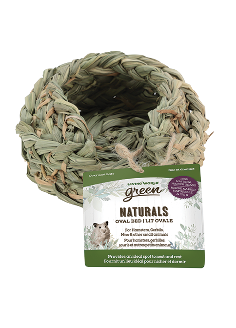 Living World Green Naturals Oval Bed