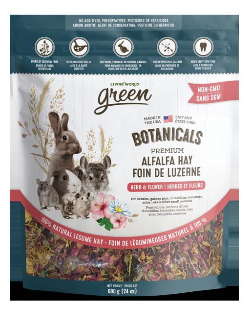 Botanicals Premium Alfalfa Hay – Herb & Flower Mix