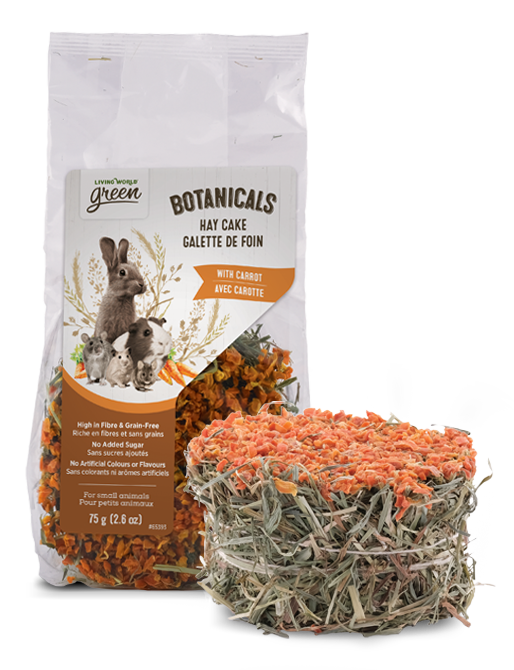 Botanicals Hay Cake with Carrot