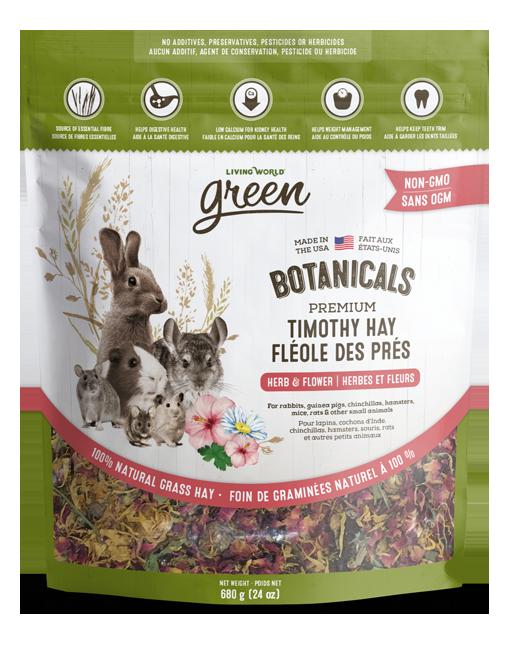 Botanicals Premium Timothy Hay – Herb & Flower Mix