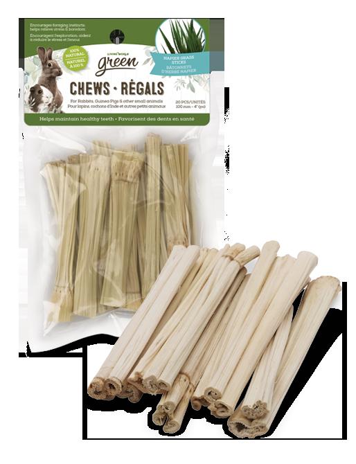 Living World Green Chews – Napier Grass Sticks