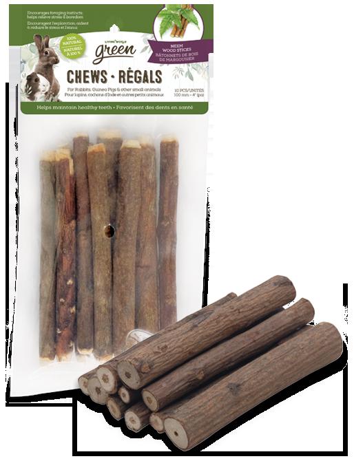 Living World Green Chews – Neem Wood Sticks
